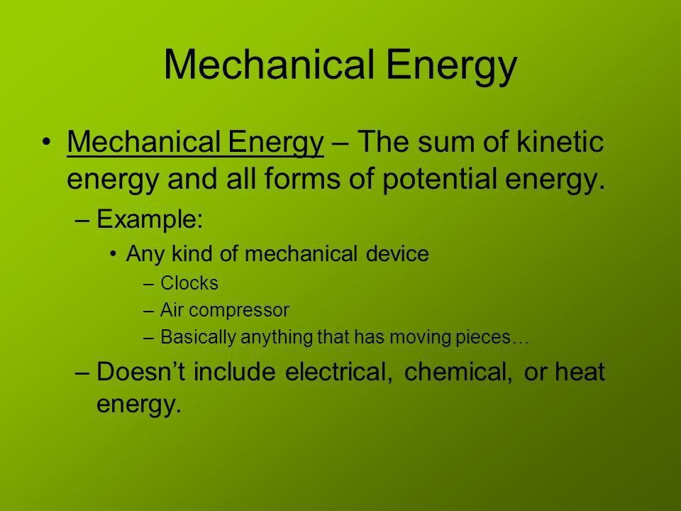 Energy Chapter 5 Section ppt video online download