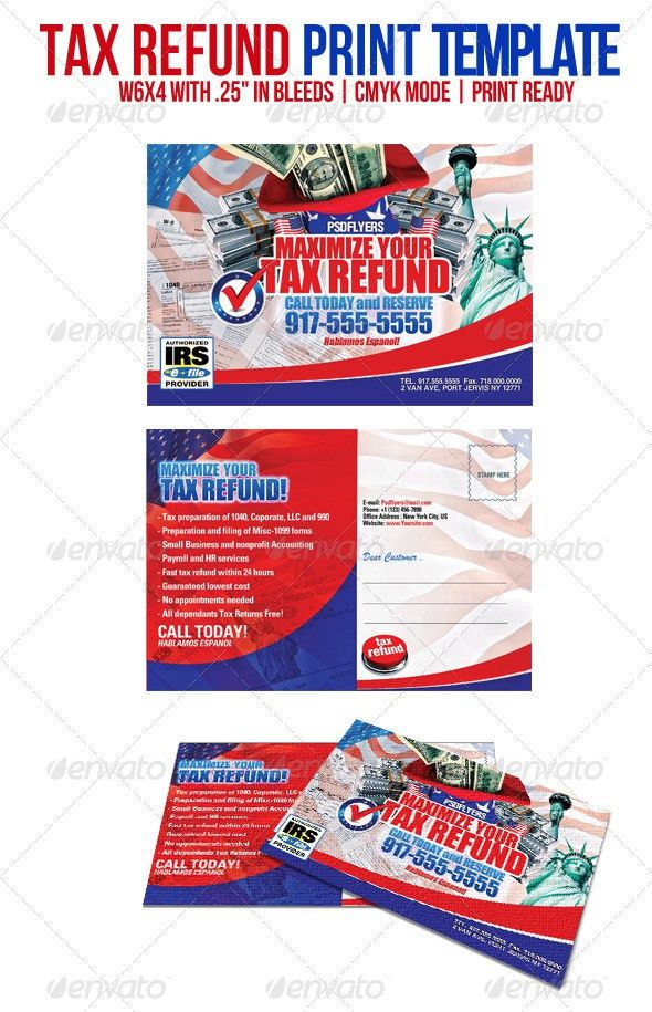 Tax Refund by PSDFLYERS | GraphicRiver
