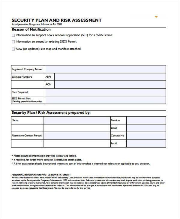 31+ Risk Assessment Templates in PDF | Free & Premium Templates