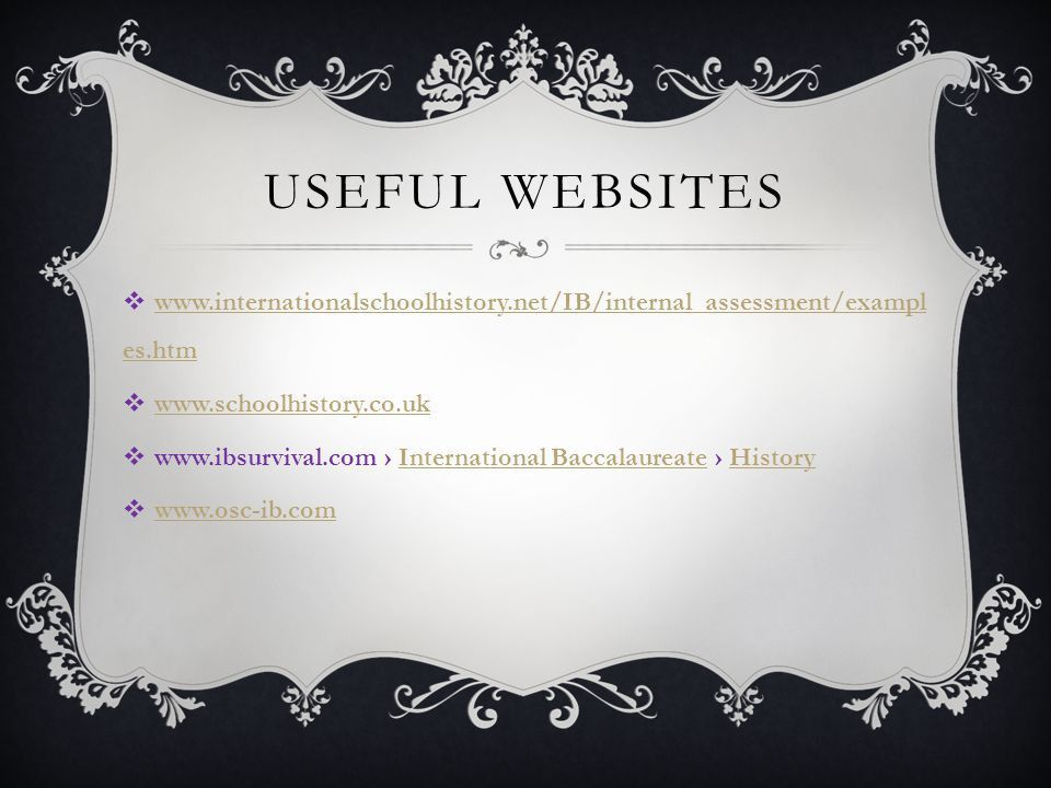The Internal Assessment - ppt video online download