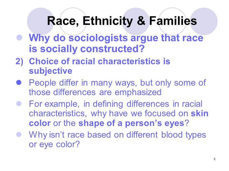 1 Family Sociology Race, Ethnicity, & Families. 2 Race, Ethnicity ...