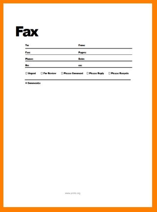 5+ basic fax cover sheet | nypd resume