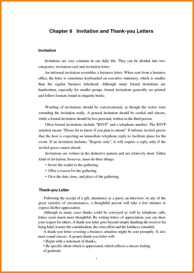 formal informal invitation format : Cogimbo.us