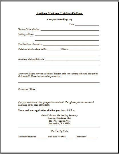Auxiliary Markings Club - Postal-Markings.Org