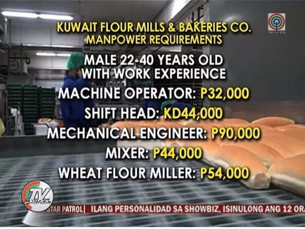 Biggest Bakery in Kuwait has 240 Job Openings for Filipino Workers ...