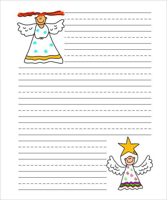 15+ Christmas Paper Templates – Free Word, PDF, JPEG Format ...