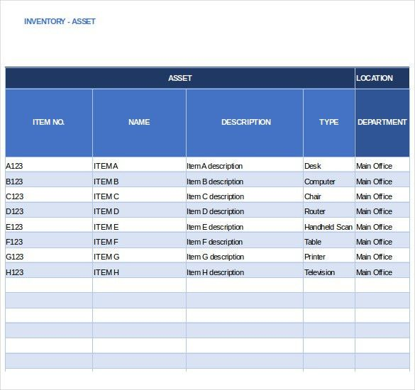 Inventory Tracking Template – 15+ Free Sample, Example, Format ...