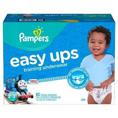 Pampers Easy Up Thomas & Friends Training Pants Super Pack - Size ...