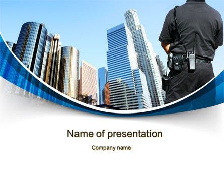 Security Guard Presentation Template - Tomyads.info