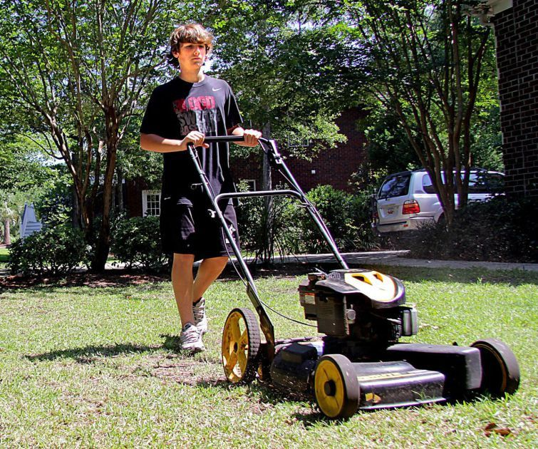Making the cut Lawn-mowing businesses run by teens less common ...