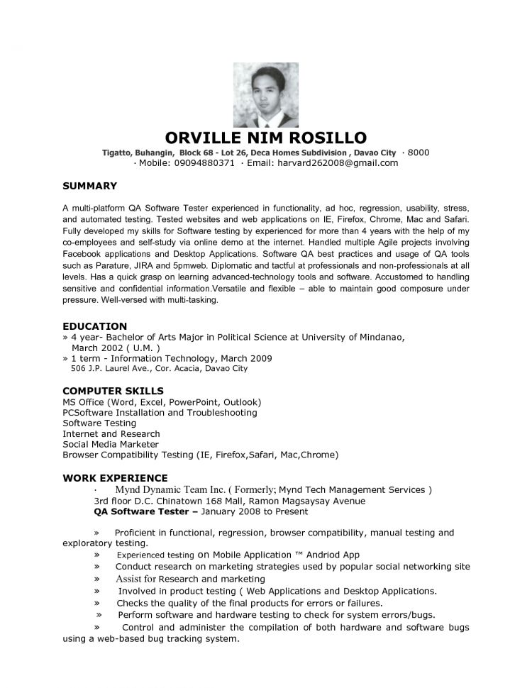 quality assurance resume example unforgettable quality assurance