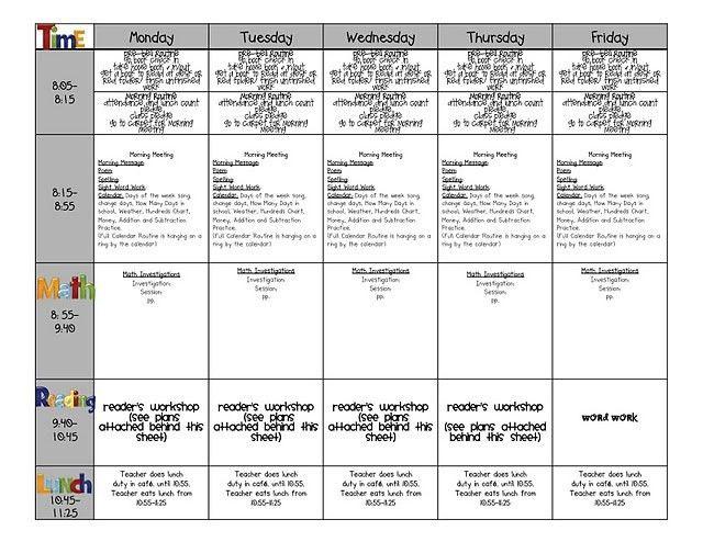 52 best Lesson Plan Templates images on Pinterest | Teacher binder ...