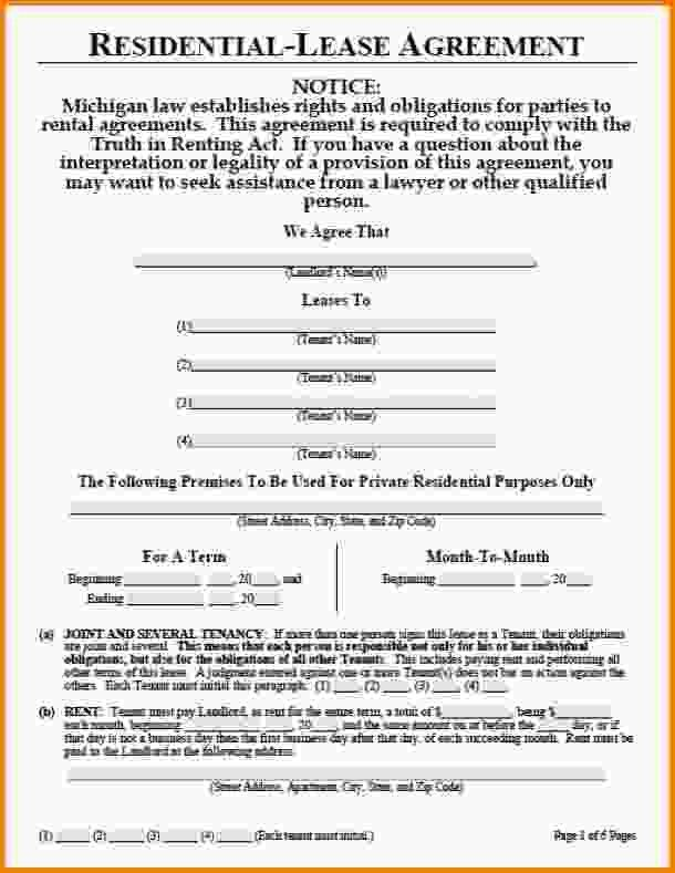 9+ rental lease agreement pdf | Letter Template Word