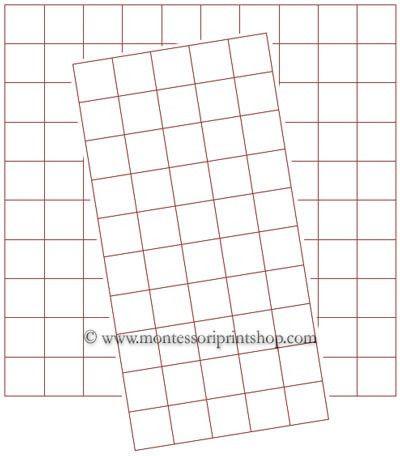 FREE: Graph Paper (Half Inch) - Printable Montessori Math Graph ...