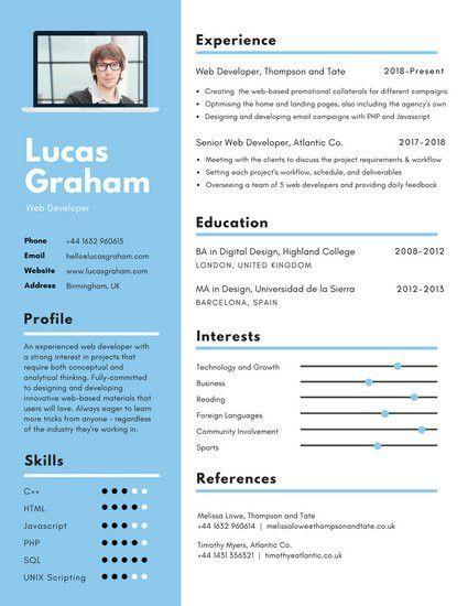 Creative Resume Templates - Canva