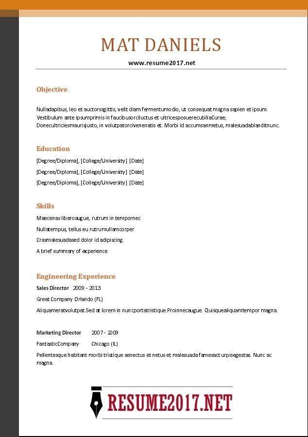 Online Resume Format. Sample Online Resumes Sample Online Resumes ...