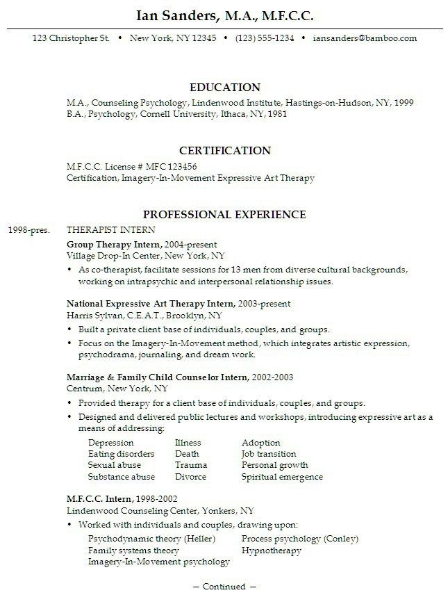 Sample Resume Objective Statement | Experience Resumes
