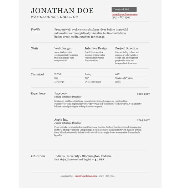 Splendid Ideas Resume Templates Pages 8 Pages Resume Template ...