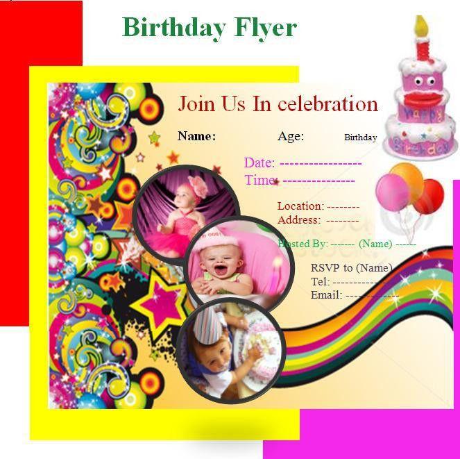 Birthday Invitation | Graphics and Templates