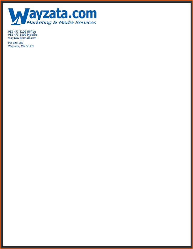7+ company letterhead samples - bookletemplate.org