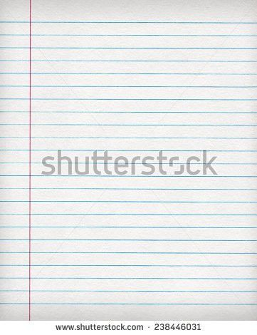 Ruled Paper Stock Images, Royalty-Free Images & Vectors | Shutterstock