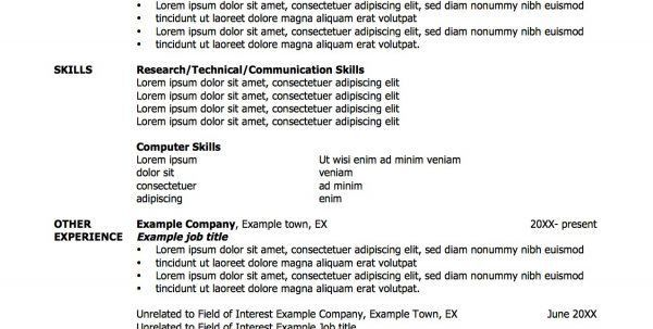resume format for animation resume template examples of ...