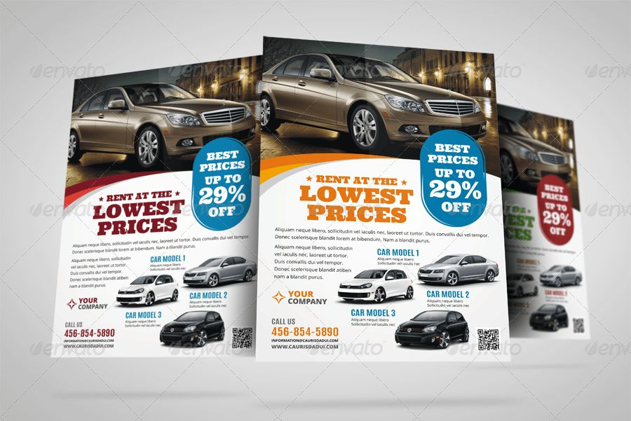 Automotive Car Sale Rental Flyer v7 by Jbn-Comilla | GraphicRiver