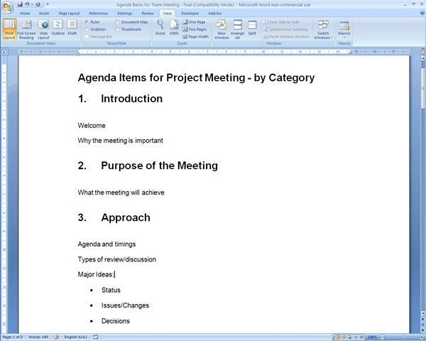 10 Best Images of Creating An Agenda In Word - How to Make a ...