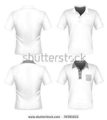 Vector Mens Polo Shirt Design Template Stock Vector 76391623 ...