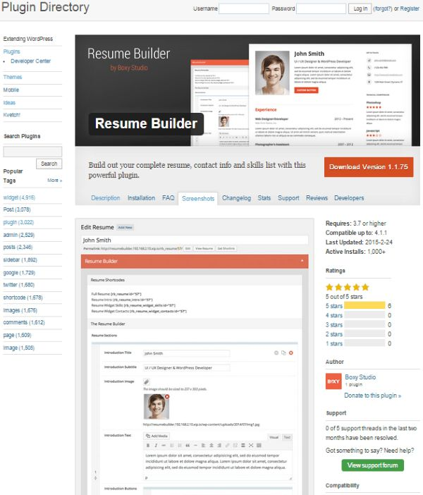 How To Create An Online Resume Using WordPress | Elegant Themes Blog