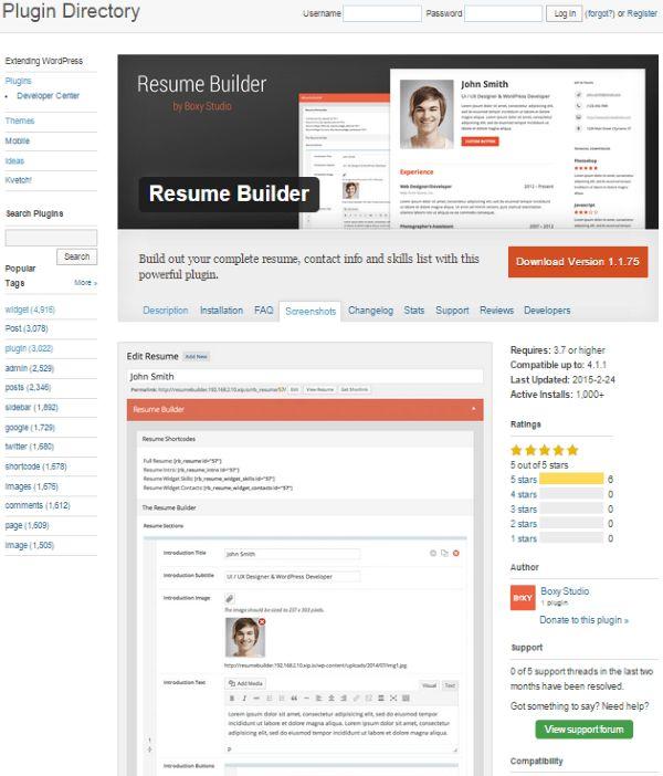 How To Create An Online Resume Using WordPress   Elegant Themes Blog