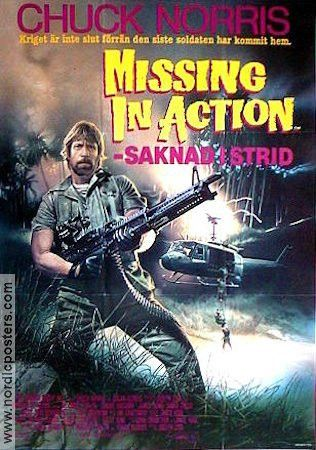 Missing in Action poster 1984 Chuck Norris original