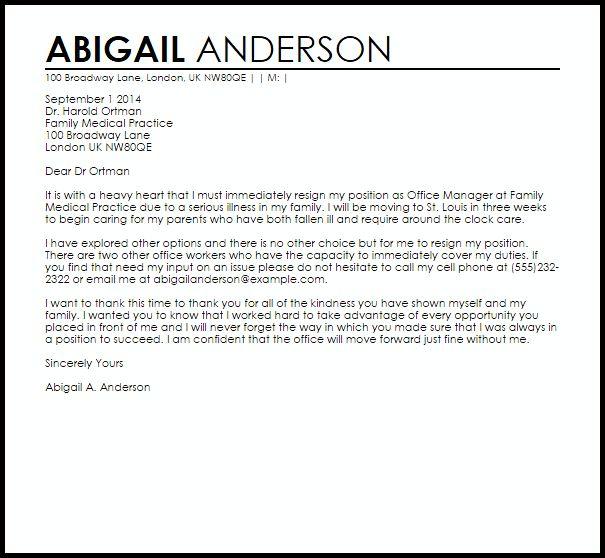 Resignation Letter : Resignation Letter Format Thank You Kindness ...