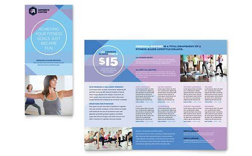 Tri-Fold Brochure Templates - InDesign, Illustrator, Publisher