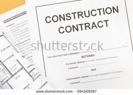 Construction Contract Stock Images, Royalty-Free Images & Vectors ...