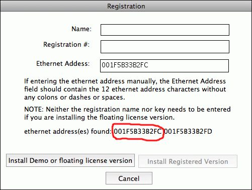 How do I find the MAC (ethernet, or NIC) address needed so that a ...