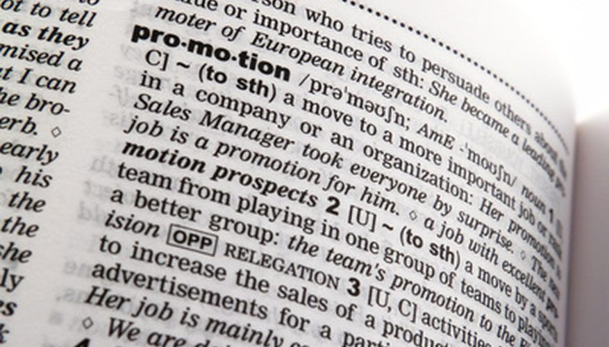 How to Write a Job Promotion Announcement | Bizfluent