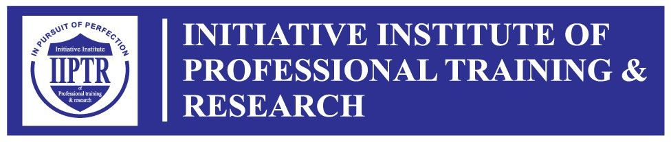 IIPTR Initiative Institute Of Professional Traning & Research