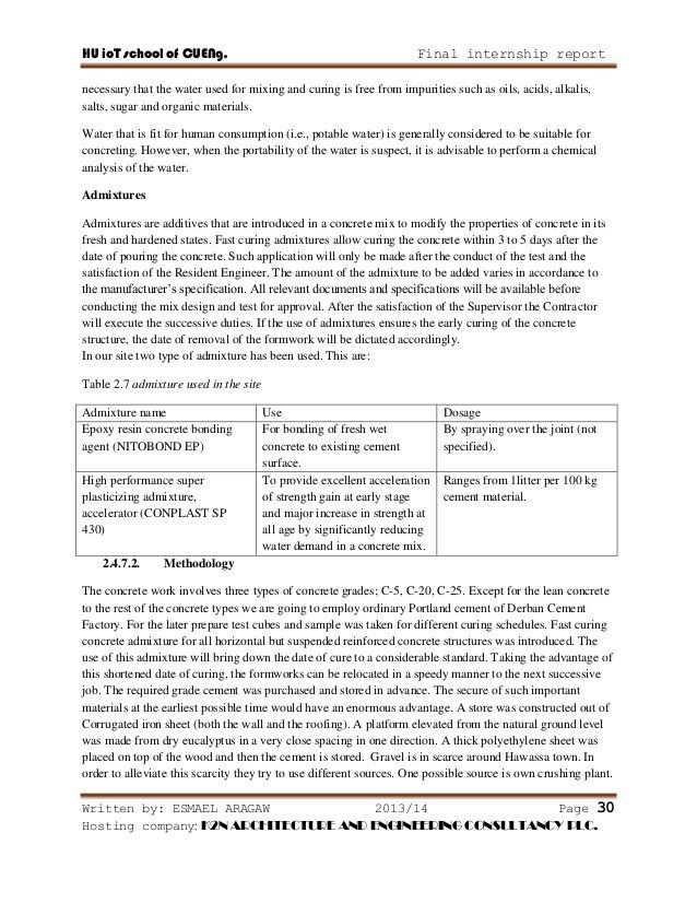 Construction Report Sample. Proposal Report Sample Cover Letter ...