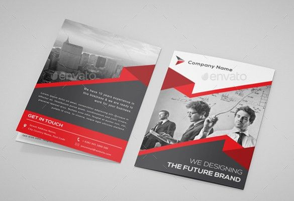 Printable Bi-Fold Brochure Template – 67+ Free Word, PSD, PDF, EPS ...