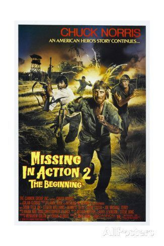 Missing in Action 2: German Movie Poster | Movies - Cold War ...