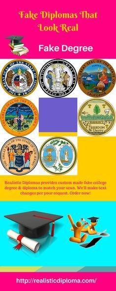 Pin by Realistic Diploma on Buy Online College Degree | Fake ...