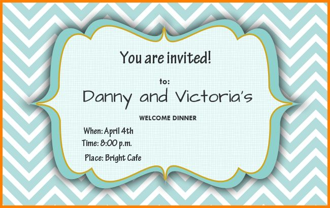 Free Party Invitation Template.printable Birthday Invitations ...