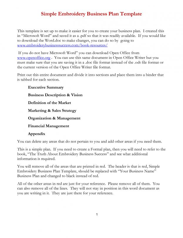 Simple Business Proposal Template Word : Selimtd