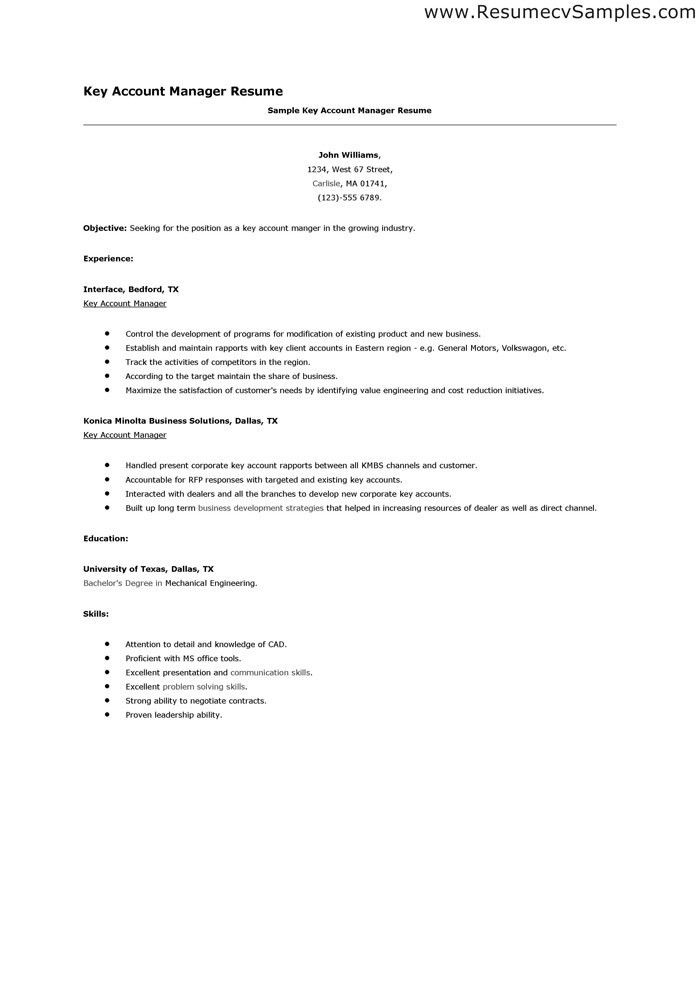 Cover Letter Key Points | Experience Resumes