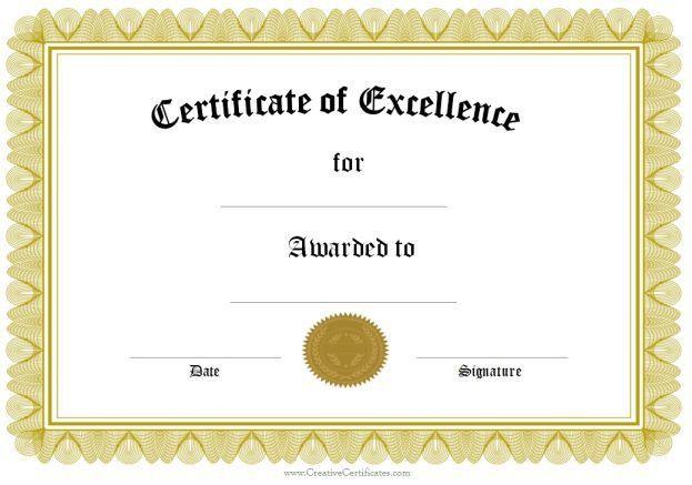 Certificate Of Appreciation Templates : Certificate Templates ...