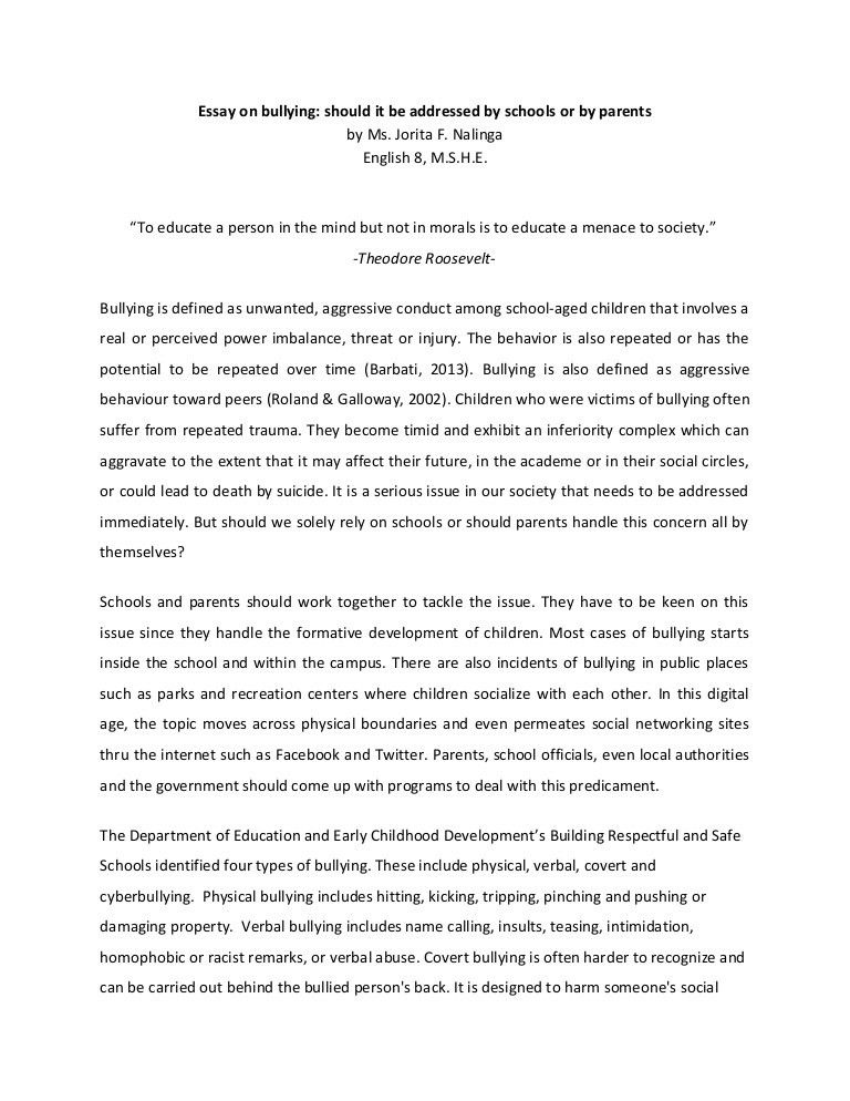 bullying essay example bullying essay example essay on bullying