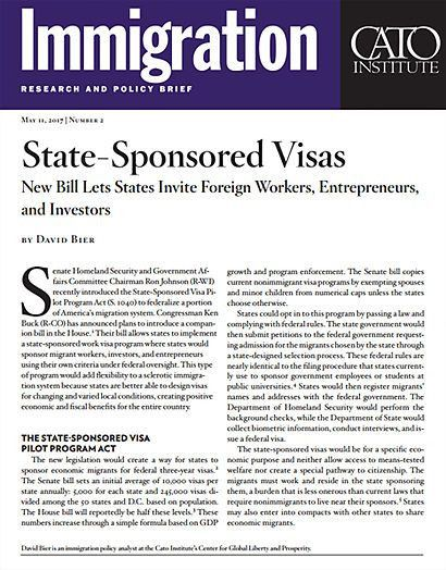 State-Sponsored Visas: New Bill Lets States Invite Foreign Workers ...