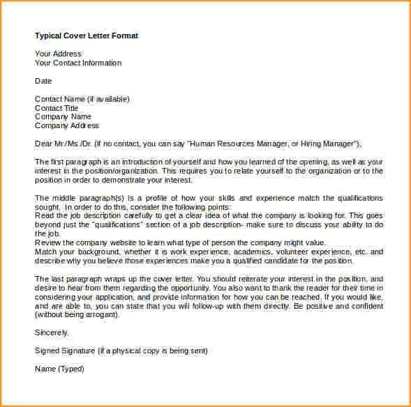cover letter template word | Questionnaire Template