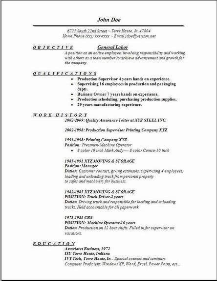 Neoteric Design Inspiration General Resume Objective Examples 12 ...